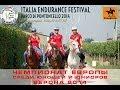 Чемпионат юниоров по конным пробегам 2014 - Репортаж из Вероны 1 июля