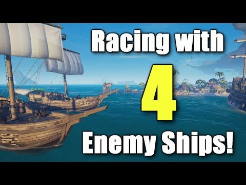 Racing in Sea of Thieves!