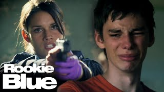 Andy's First Arrest!   Rookie Blue