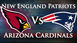 New England Patriots vs. Arizona Cardinals - Week 1 2016