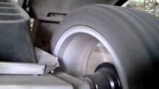pred vyrovnávaním s pneu