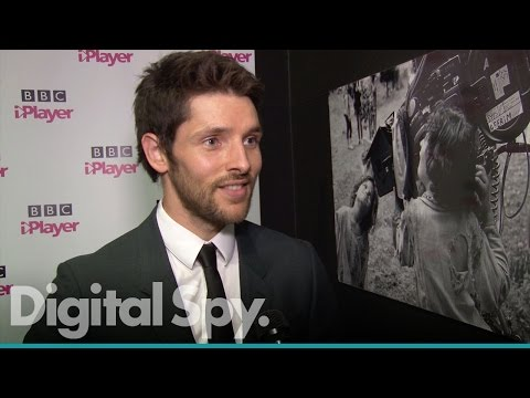 Colin Morgan talks to us about new series 'The Living And The Dead'
