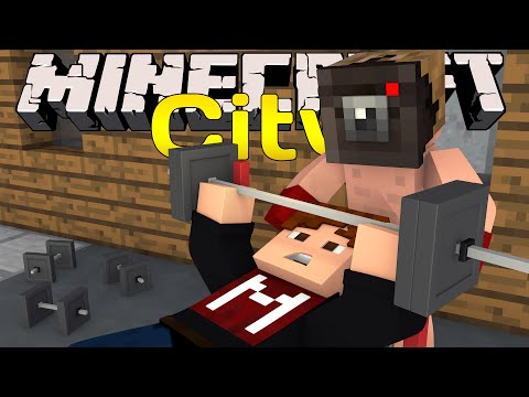 "Minecraft City - ""Gym Workout!"" #7 (Minecraft Roleplay)"