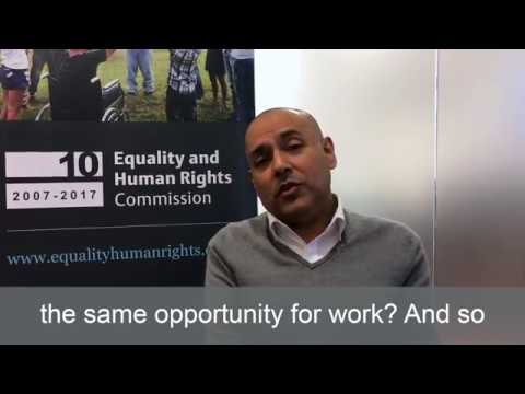 Kamran Mallick, Disability Rights UK: the future of equality and human rights