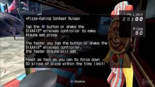 Enchanted Arms PlayStation 3 Gameplay - Pizza, Anyone?