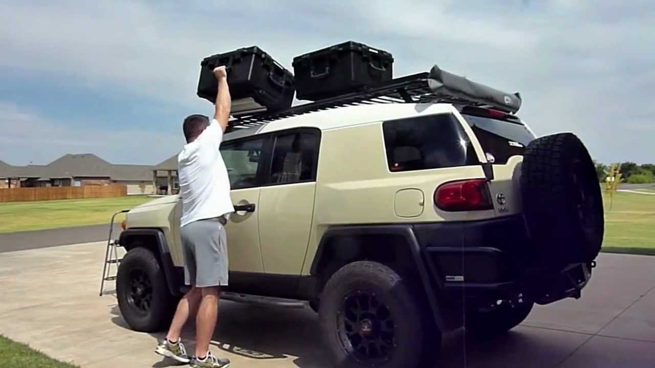 Eo 2 Mounting System Roof Rack Of Fj Cruiser And