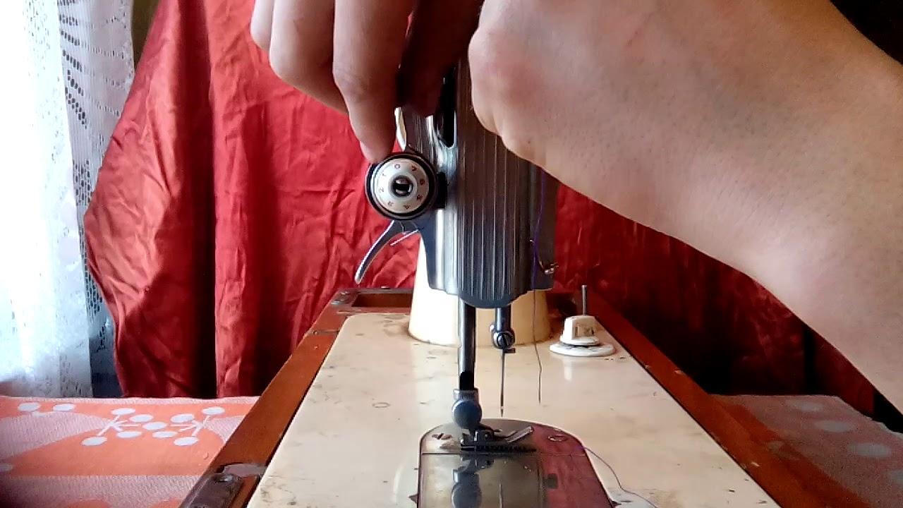 Швейная машина путает нижнюю нитку