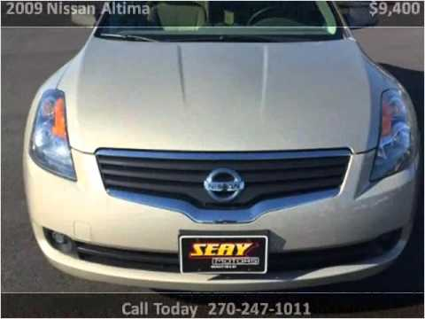 2009 nissan altima used cars mayfield ky youtube for Seay motors mayfield ky