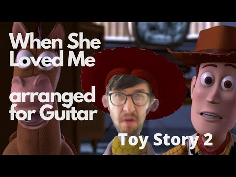 When She Loved Me | Arranged For Solo Guitar ||| Line 6 Helix