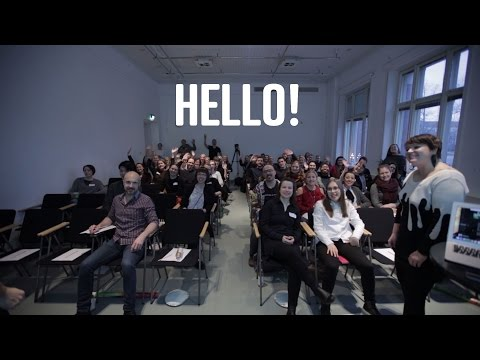 HELLO! | CreativeMornings/Helsinki Breakfast Lectures at Design Museum