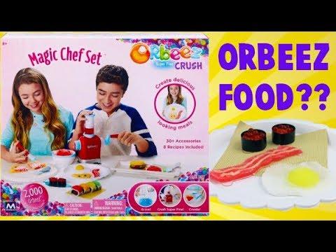 Orbeez Super Fine Crush Magic Chef Set