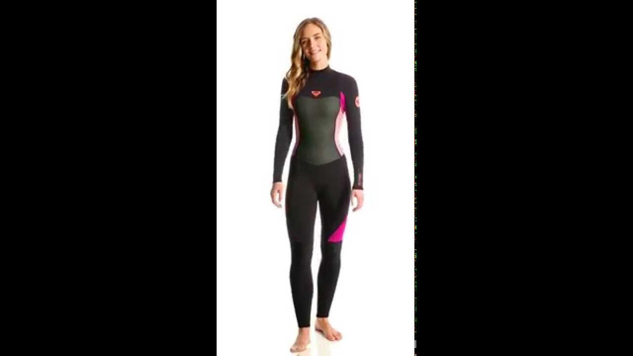 Roxy Women s 3 2mm Syncro Back Zip Full Suit Wetsuit  363e88e54