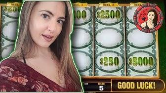 $25 BET Green Machine Deluxe Slot Machine at Wynn Las Vegas