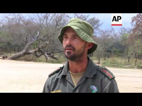 SAfrica trains local rangers to combat poaching