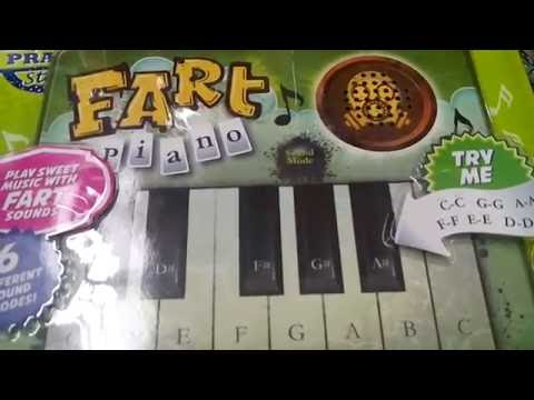 Weird & Funny Toys - Prank Star Farting, Belching & Vomiting Piano Keyboard