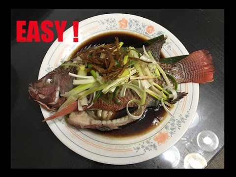 How To Make Easy Cantonese Steamed Fish w/ Ginger Soy Sauce