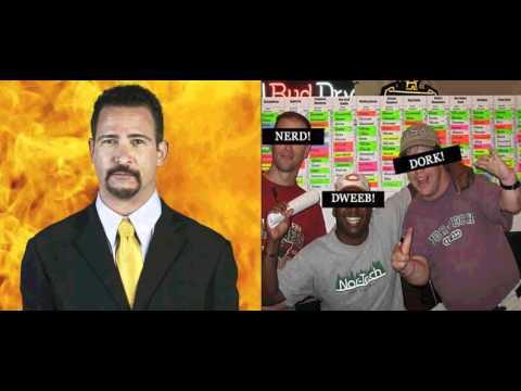 Fantasy Football Draft Room Guy - The Stat Geek - YouTube