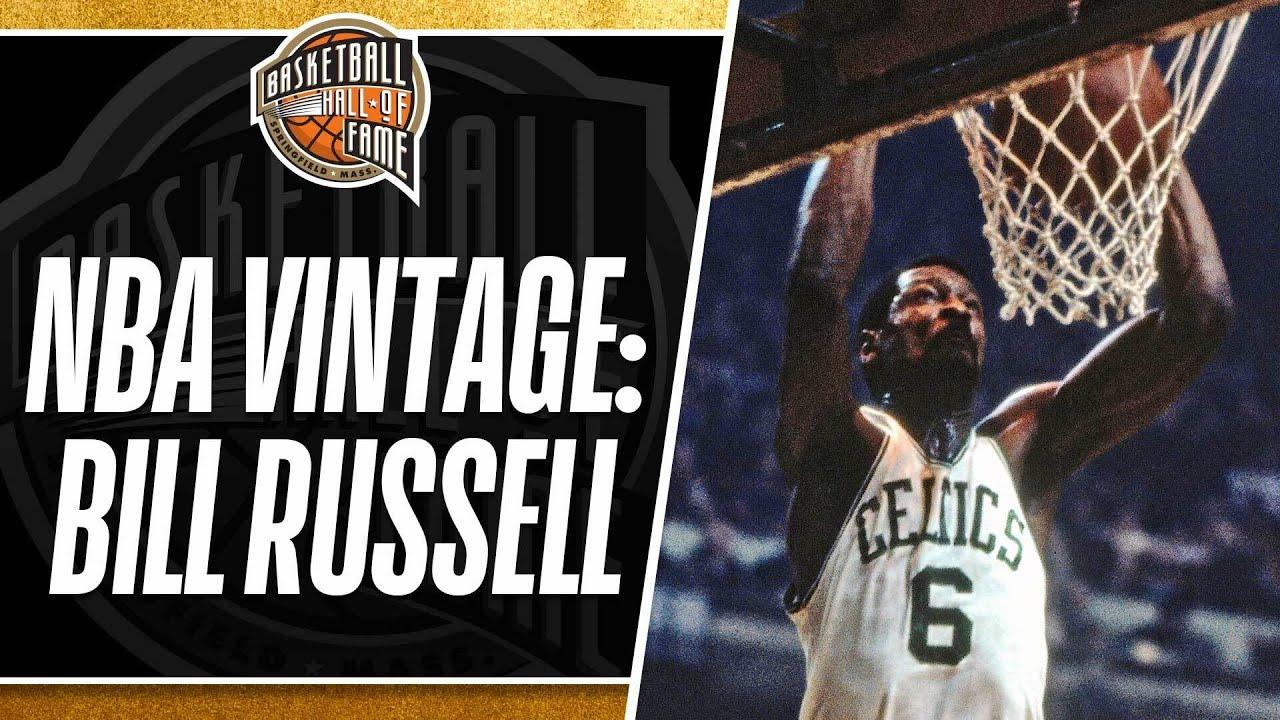 NBA Vintage Bill Russell