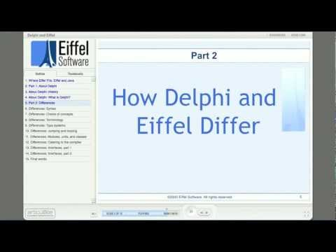 Where Eiffel Fits: Part 4 - Delphi