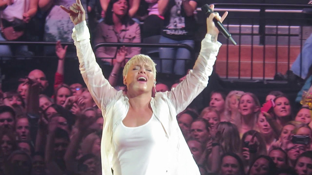 Download P!nk   -  F**kin' Perfect (Live) Auckland New Zealand