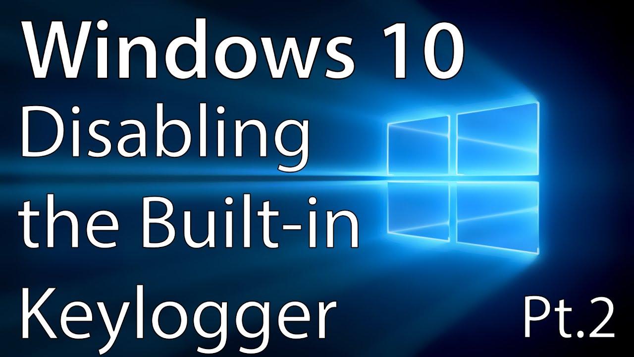 кейлоггер для windows 10 скачать