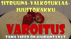 Sitruuna-valkosuklaajuustokakku (Omaa hauskaa -video)
