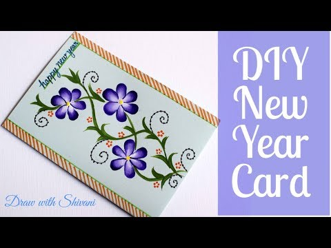 Happy New Year 2020 Greeting Card Ideas For Kids