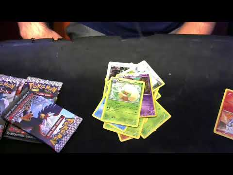 Pokemon Black White Card Game RESHIRAM Box Unboxing