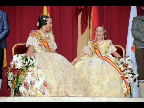 Exaltacion Falleras Mayores Sagunto 2016
