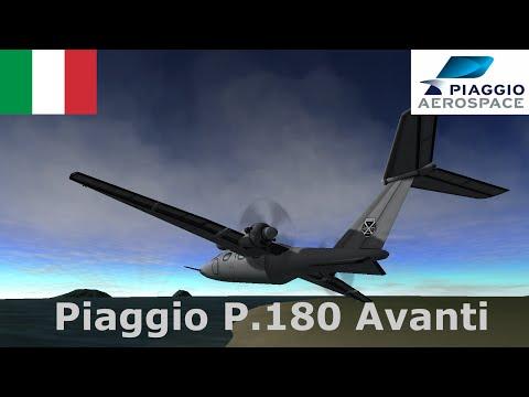 Piaggio P.180 Avanti Speedbuild (KSP 1.05)