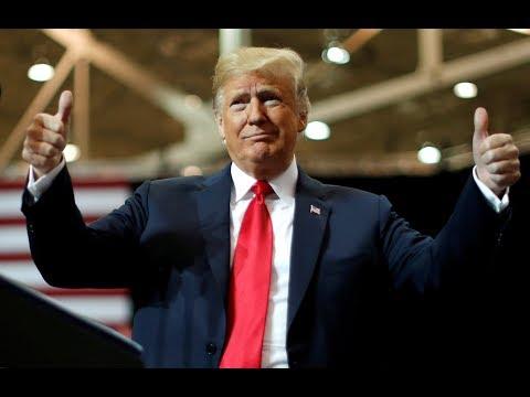 """US President Donald Trump hails Midterm election results a """"tremendous success"""""""
