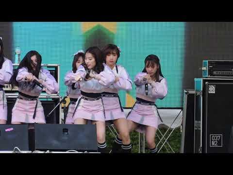 190608 BNK48 Panda - Beginner @ Prime Show World Food & Music Festival [Fancam 4K 60p]