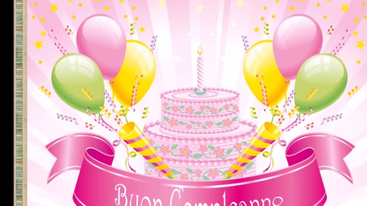 Super Buon Compleanno bambina - Edoardo Bennato - YouTube BQ68