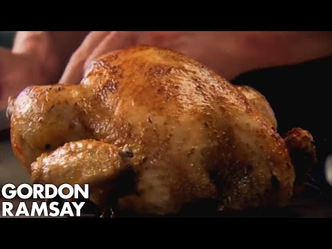 Stuffed Roast Chicken With Chorizo Gordon Ramsay Youtube