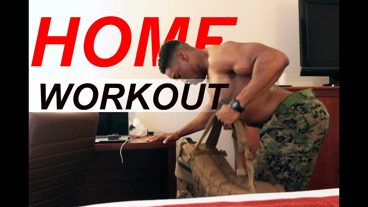BOOT CAMP FULL UPPER BODY WORKOUT AT HOME