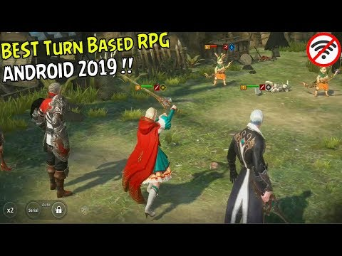 10 Game Turn Base Android Terbaik I Best Turn Based RPG Android  2019 #1