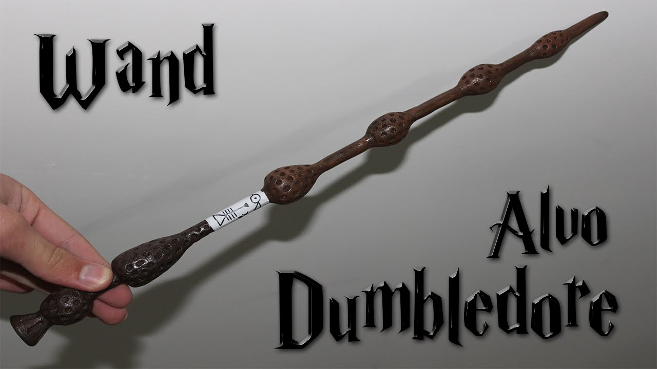 How to make a dumbledore 39 s wand diy youtube for Dumbledore wand wood