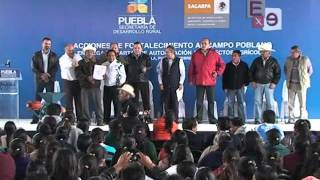 ENTREGAN RECURSOS A PRODUCTORES DE CHICHIQUILA