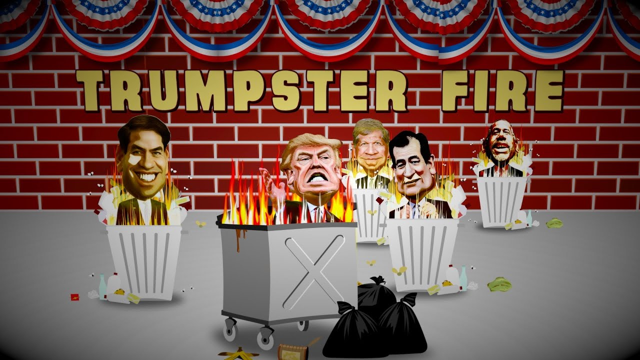 TRUMPSTER FIRE! - YouTube