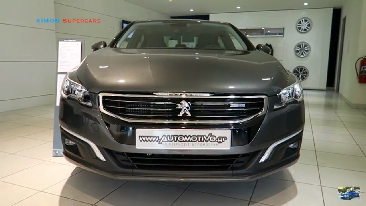 new 2017 peugeot 508 exterior and interior youtube. Black Bedroom Furniture Sets. Home Design Ideas