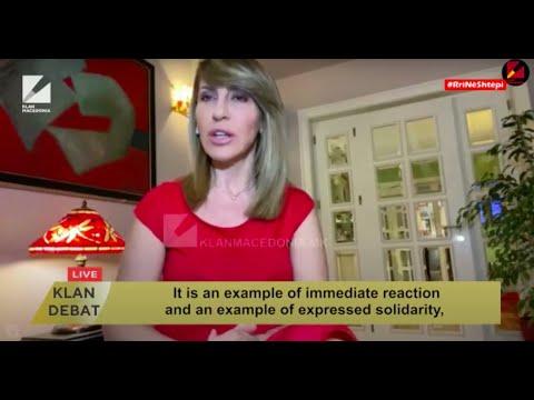 Majlinda Bregu, Secretary General Of The RCC In Debate On Klan Macedonia