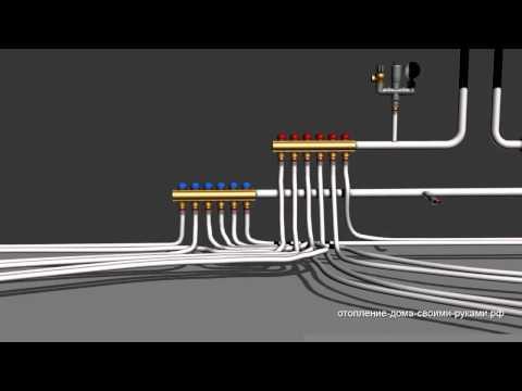 видео: Коллекторное отопление