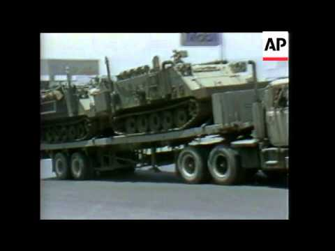 Lebanon: Us Embassy Bombing, French And Israeli Hq