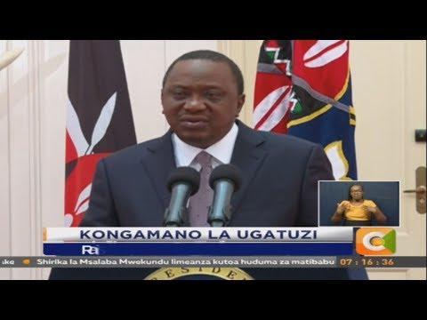 Rais ahutubia kongamano la ugatuzi moja kwa moja kutoka Ikulu Nairobi