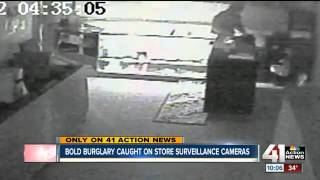 zmodo security systems captured every angle of the theft