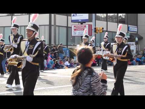 Bethlehem Catholic High School Band - Bethlehem Halloween Parade - October 25, 2015