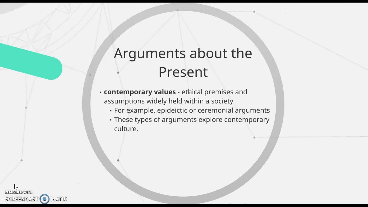 what is a ceremonial argument
