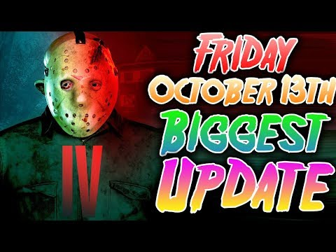 HUGE UPDATE! New Counselor, New Jason, New Map! Friday the 13th Game October Update!