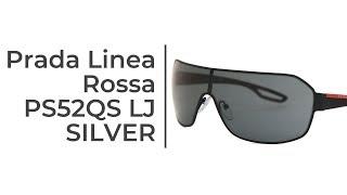 Prada Linea Rossa PS52QS Silver Sunglasses Review