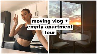 moving day + empty apartment tour! | Keaton Milburn